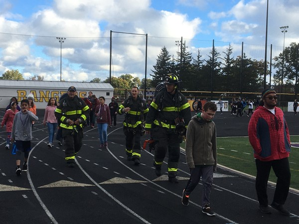 Lakewood Fire Department joins the Ranger Run