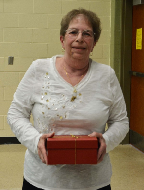 Retiree Janet McElwain, Cafeteria Worker, Lincoln