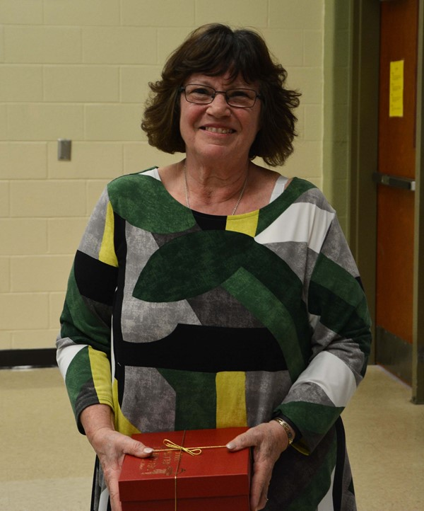 Retiree Suzann Schwartz, Career Technical Paraprofessional, Lakewood High School