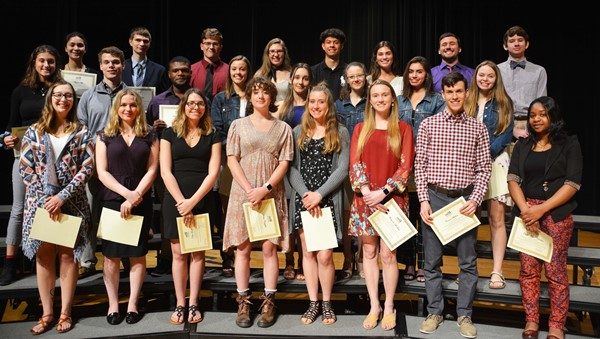 Lakewood Rangers Education Foundation scholarship recipients.