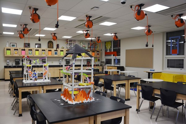 New science room