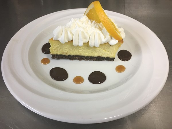 Dessert Special: Orange Cheesecake