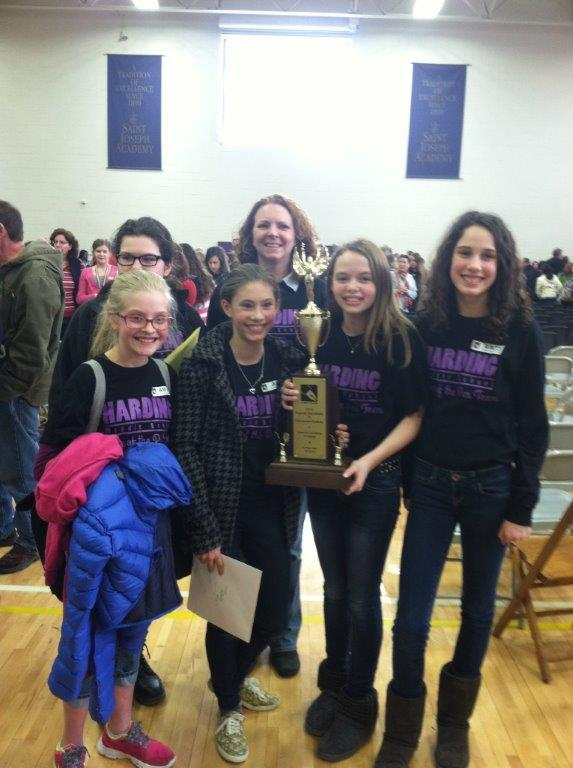 Harding 7th and 8th grade Power of the Pen teams victorious!