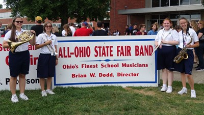 All State Fair Band LHS members