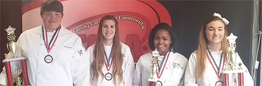 Culinary Competition Award Winners