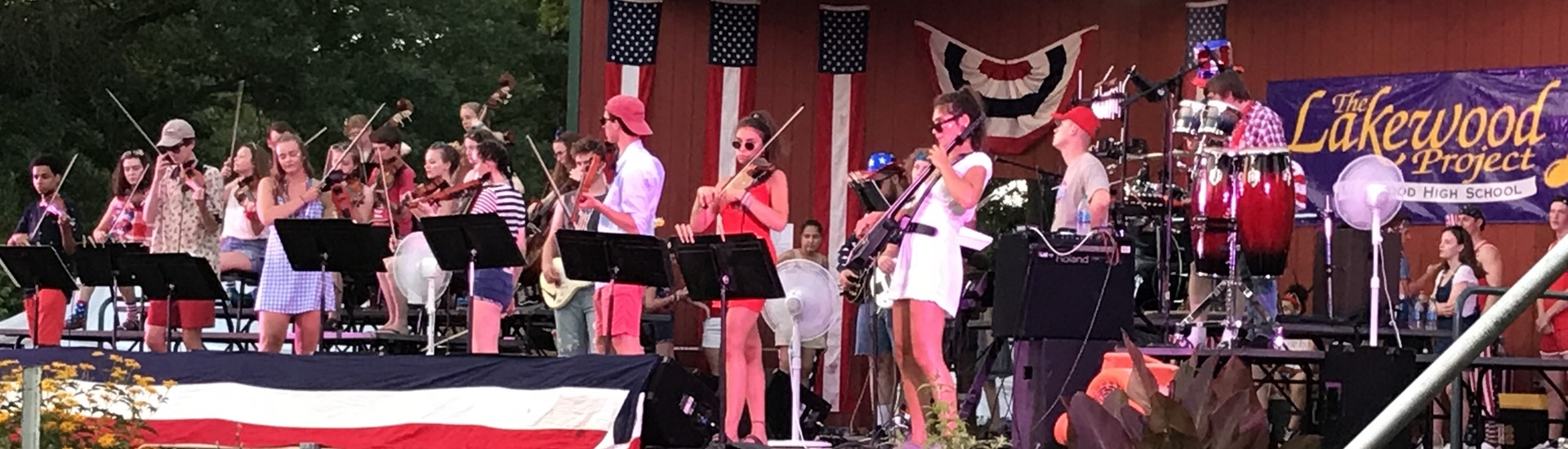 Lakewood Project July Fourth Concert