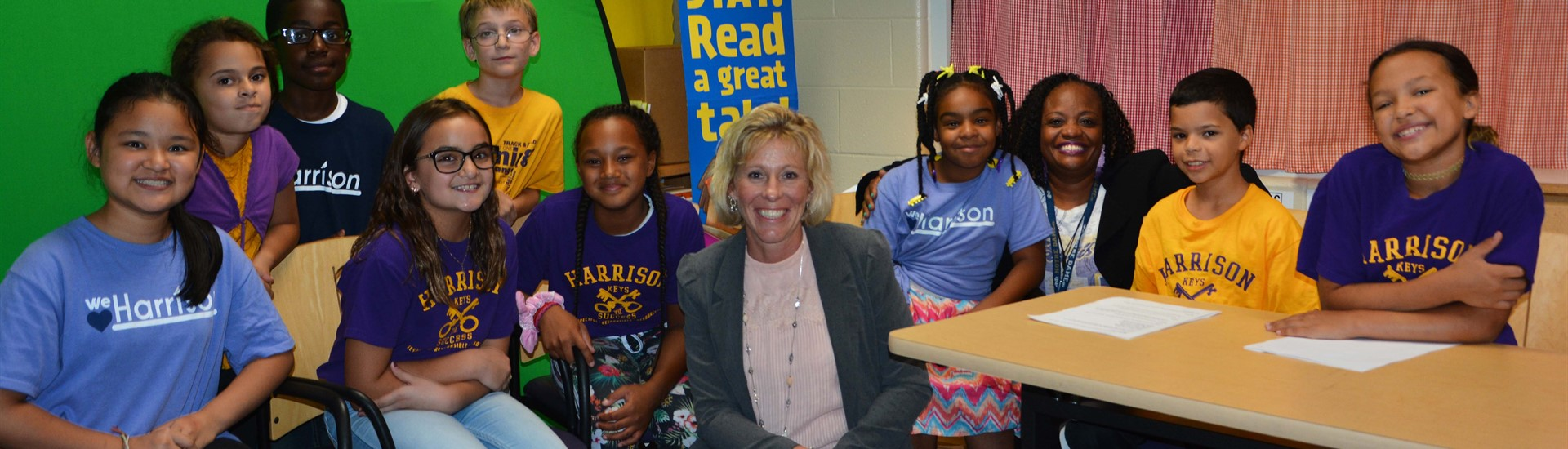 Ohio Board of Education President Tess Elshoff's visit