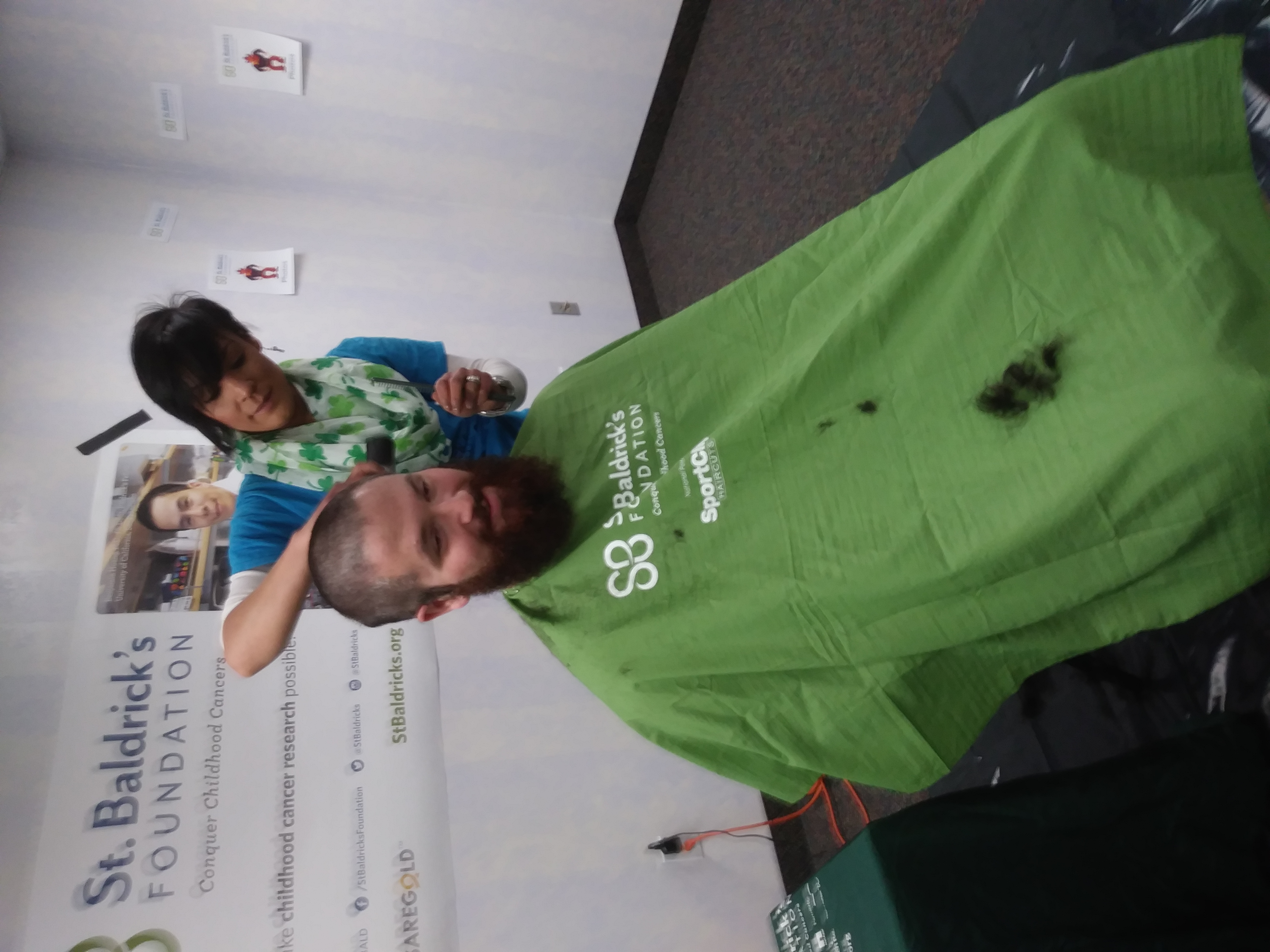 Brave the Shave for St. Baldrick's