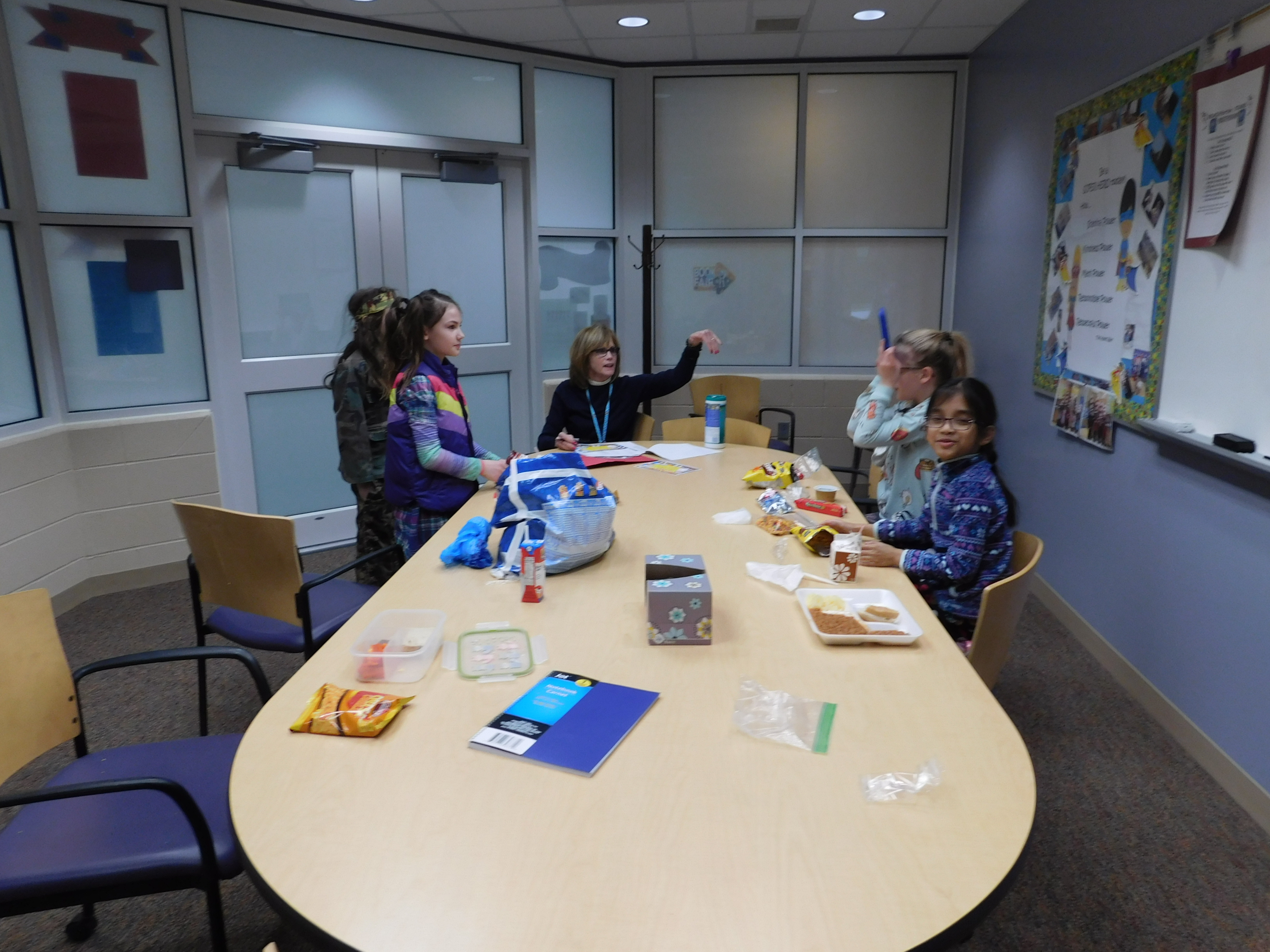 Lunch Bunch with Mrs. Powers -March 2018!