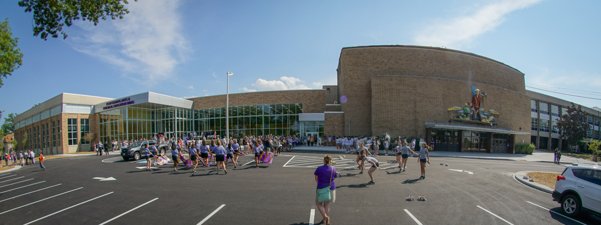 Performing Arts & Physical Education Wing Dedication