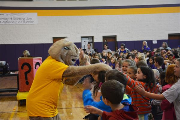 Two Schools One Book Kickoff
