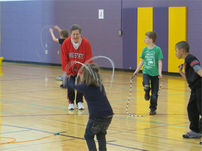 Jump Rope for Heart 2014