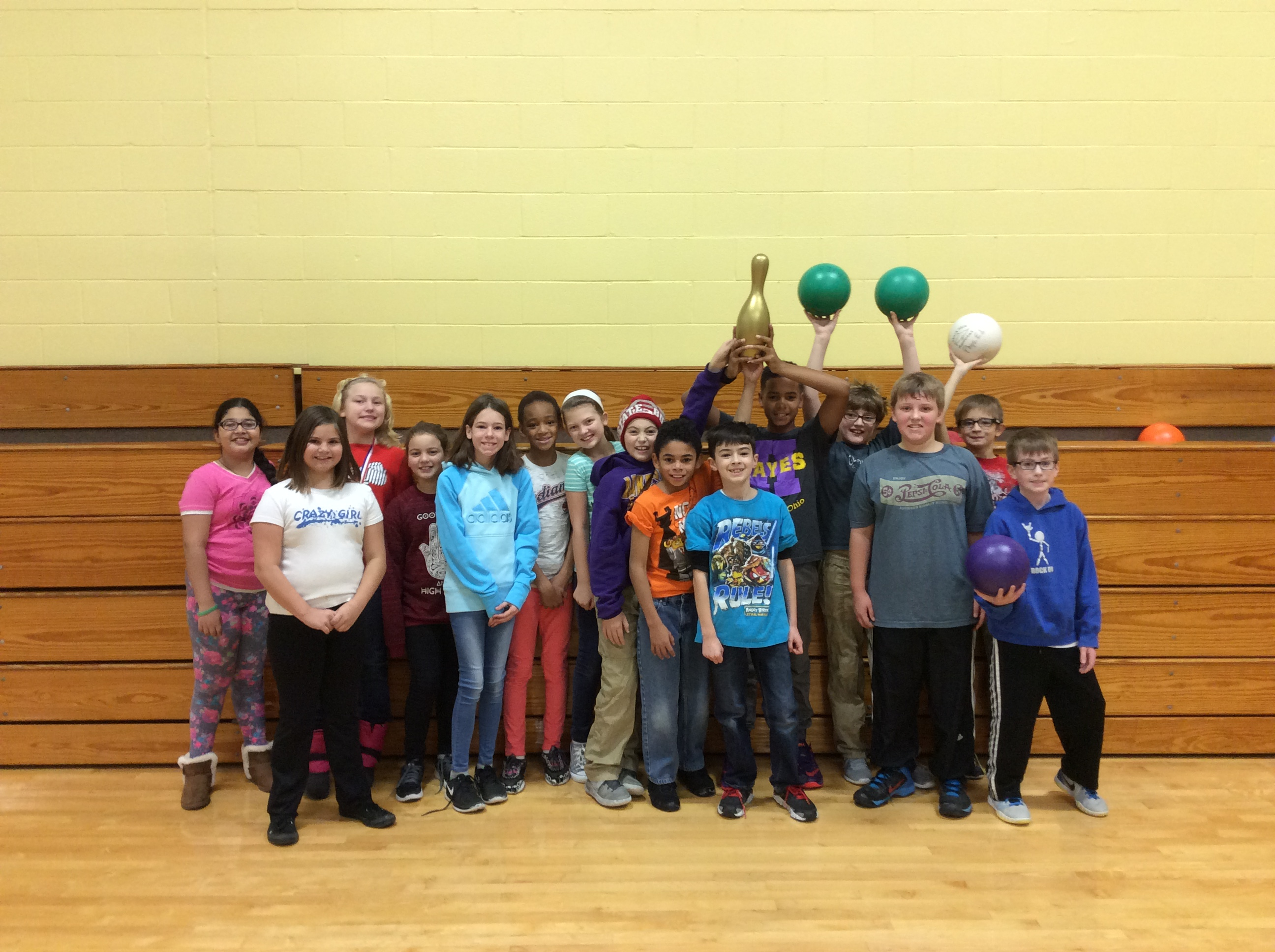 Congratulations 5th Grade Cardio Bowling Team!